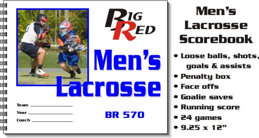 Men's Lacrosse Scorebook